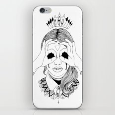 Void in your eyes iPhone & iPod Skin