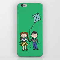 Fly A Kite iPhone & iPod Skin