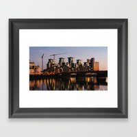 Vauxhall Twilight Framed Art Print