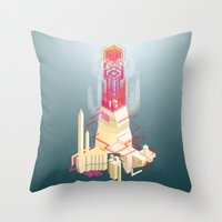 Ludibrium Throw Pillow