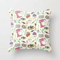 Leah's Kitchen Throw Pillow