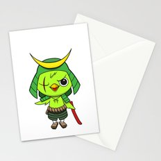 Samurai Bird Stationery Cards