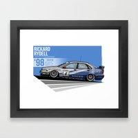 Rickard Rydell - 1998 Th… Framed Art Print