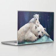 Polar Bears Laptop & iPad Skin