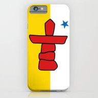 Flag Of Nunavut - High Q… iPhone 6 Slim Case