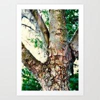 Hand Tree Art Print