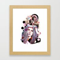 And Bring The Crazy Framed Art Print