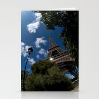 Eiffel Tower - Paris Stationery Cards
