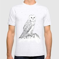 Mr Barnsby Owlsworth The… Mens Fitted Tee Ash Grey SMALL