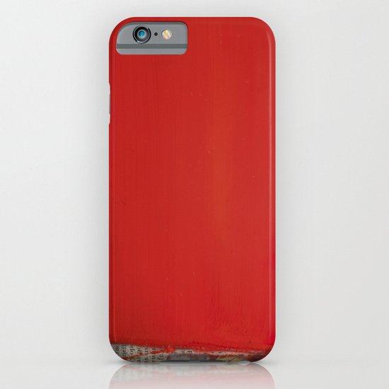 RED1 iPhone & iPod Case