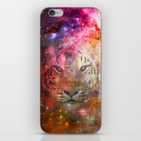 Galactic Tiger  iPhone & iPod Skin