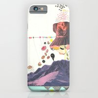 iPhone Cases featuring In a Pretty Land---for RVLVR by Jackie Thomson