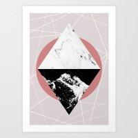 Geometric Textures 3 Art Print