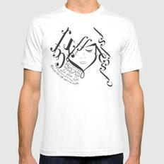 for those of you falling in love Mens Fitted Tee SMALL White