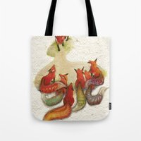 Aesop's Fable - The Fox … Tote Bag
