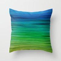 SEA BLUES Throw Pillow
