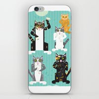 Cats I Have Known iPhone & iPod Skin