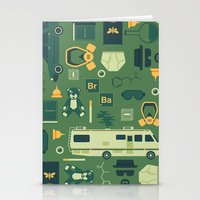 breaking bad Stationery Cards featuring Breaking Bad by Tracie Andrews