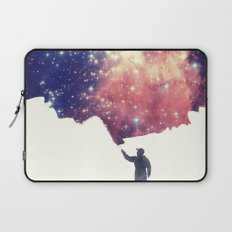 Painting the universe Laptop Sleeve