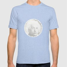 Optical Illusions - Iconical People 3 Mens Fitted Tee Tri-Blue SMALL