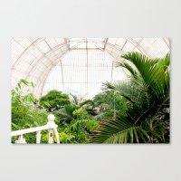 Kew Gardens palm house Canvas Print