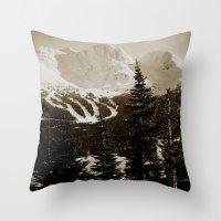 whistler, BC Throw Pillow