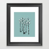 A Sheep in Tree Clothing Framed Art Print