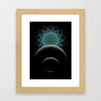 BLUE DWARF Framed Art Print