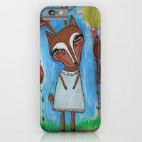 Deer Girl iPhone 6 Slim Case