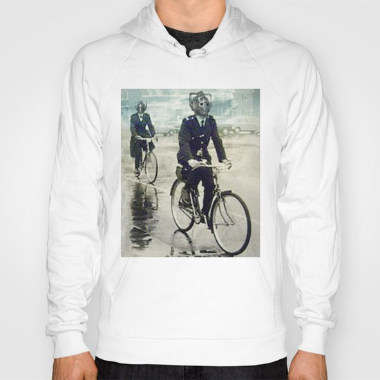Cybermen on bikes Hoody