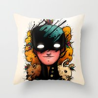 Guardians Of The Woods (… Throw Pillow