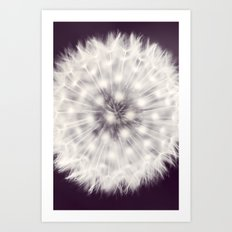 A Delicate Tethering Art Print