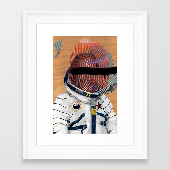 Spaceman No:2 Framed Art Print