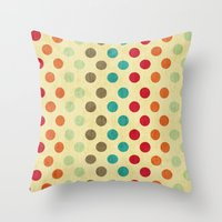 Shabby Sweets  Throw Pillow