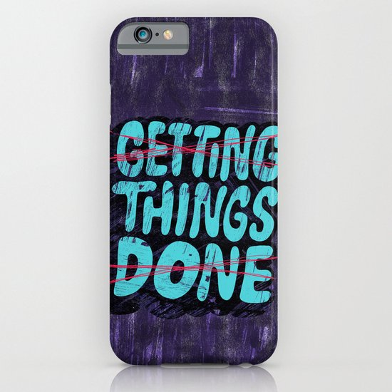 Not Getting Things Done iPhone & iPod Case