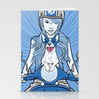 Scooter Girl Stationery Cards