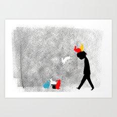magical rebellion Art Print