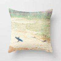 Margin Walker. Surfer Ph… Throw Pillow