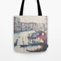 Winter In Venice ...  Tote Bag