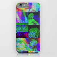 iPhone & iPod Case featuring Poseidon Glitch 02 by Tristan Bowersox McQueen