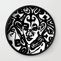 The Gossips Wall Clock