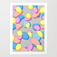 Stacking Candy Art Print