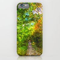 The Autumn Forest Path A… iPhone 6 Slim Case