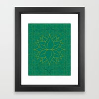 Infinite Hour Glass Framed Art Print