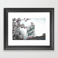 Portland Oregon Framed Art Print
