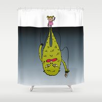 5 O'clock Shadow Shower Curtain