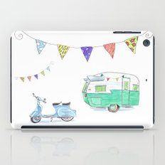 June Cleaver Goes Camping iPad Case