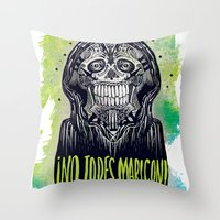 No Jodes Maricon Throw Pillow