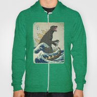 The Great Godzilla Off K… Hoody