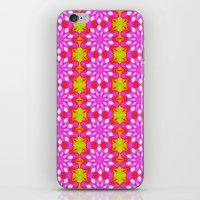 Flower Power Pattern iPhone & iPod Skin